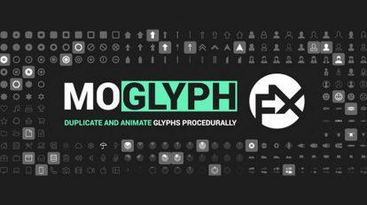 اسکریپت افترافکت انیمیشن علائم گلیف Moglyph FX