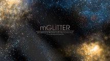 مجموعه فوتیج ویدیویی گرد و غبار براق mGlitter