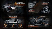 پروژه افترافکت تیزر تبلیغاتی خودرو New Black Car Promo