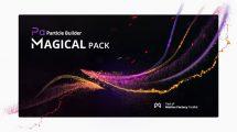 مجموعه پریست افترافکت ذرات جادویی Particle Builder Magical Pack