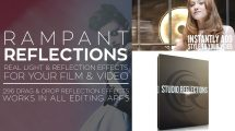 مجموعه فوتیج ویدیویی بازتاب نور Rampant Studio Reflections