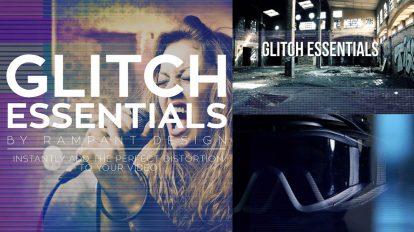 مجموعه فوتیج ویدیویی افکت قطعی Rampant Glitch Essentials