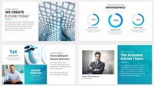 پروژه افترافکت مجموعه پرزنتیشن شرکتی Ultimo