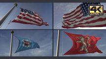 پروژه افترافکت ساخت انیمیشن پرچم 3D Flag Loop Maker