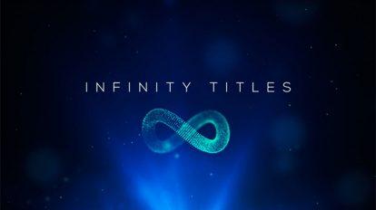 پروژه افترافکت نمایش عناوین سینمایی 4K Cinematic Infinity Titles