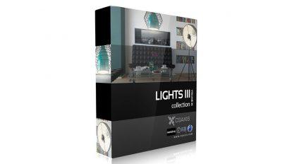 مجموعه مدل سه بعدی چراغ CGAxis Models Volume 35 Lights III