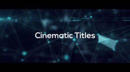 پروژه پریمیر عناوین سینمایی Cinematic Titles