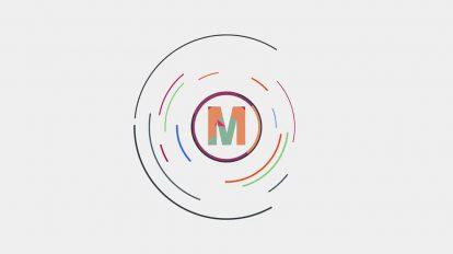 پروژه پریمیر نمایش لوگو Clean Logo Reveal