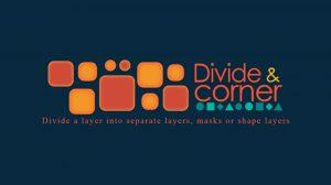 اسکریپت افترافکت Divide & Corner