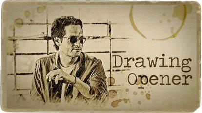 پروژه پریمیر افتتاحیه با ترسیم طرح Drawing Opener