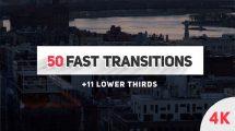 پروژه افترافکت مجموعه ترانزیشن سریع Fast Transitions