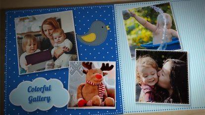 پروژه افترافکت آلبوم عکس کودکان Kids Photo Album