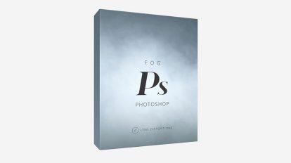 مجموعه اکشن فتوشاپ مه Lens Distortions Fog