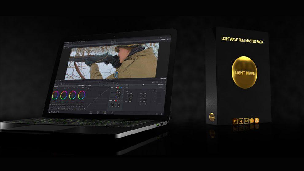 مجموعه پریست فیلم LightWave Film LUT Master Pack