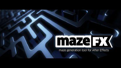 اسکریپت افترافکت MazeFX برای ساخت انیمیشن هزارتو