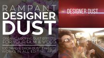 مجموعه فوتیج ویدیویی گرد و غبار Rampant Designer Dust