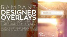 مجموعه فوتیج ویدیویی پوشش نور Rampant Designer Overlays