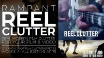 مجموعه فوتیج ویدیویی افکت فیلم Rampant Reel Clutter