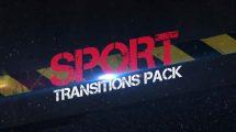 مجموعه ویدیوی موشن گرافیک ترانزیشن ورزشی Sport Transitions Pack
