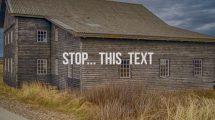 پروژه پریمیر اینترو تایپوگرافی Stomp Typography Intro