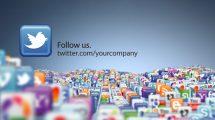 پروژه افترافکت شبکه اجتماعی