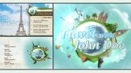 پروژه افترافکت شوی جهانگردی Travel Show Pack