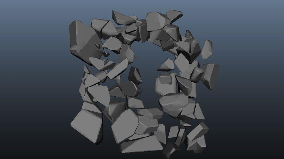 درک مفاهیم دینامیک و ذرات در مایا - بخش 8