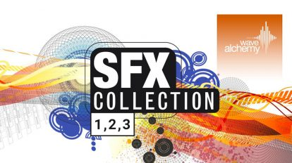 مجموعه جامع افکت صوتی Wave Alchemy SFX Collection