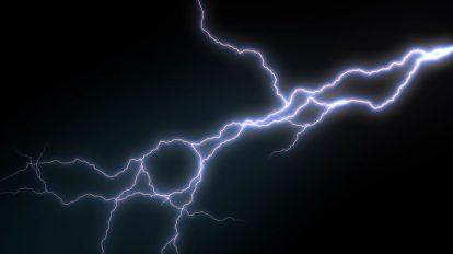 ویدیوی موشن گرافیک رعد و برق Triple Lightening Strike