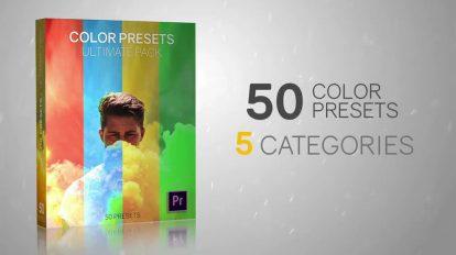 مجموعه 50 پریست رنگ پریمیر پرو