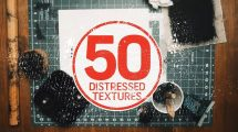 مجموعه 50 تکسچر الگوهای بینظم Distressed Textures Pack