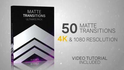مجموعه موشن گرافیک 50 ترانزیشن مت ویدیویی