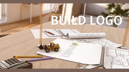 پروژه افترافکت نمایش لوگو با ابزار مهندسی و ساختمان سازی Build Logo
