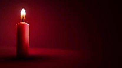 ویدیوی موشن گرافیک شمع روشن Candle Light Background