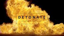 مجموعه 50 فوتیج ویدیویی افکت انفجار Detonate