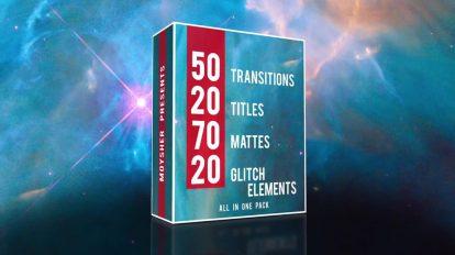 پروژه پریمیر اجزای ویدیویی ضروری Edit Video Pack