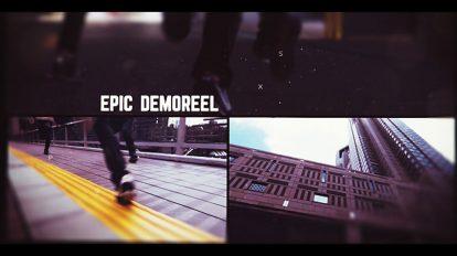 پروژه افترافکت افتتاحیه حماسی Epic Video Demo Reel
