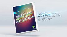 پروژه افترافکت ترانزیشن Essential Transitions Pack