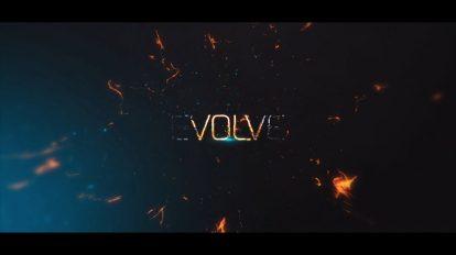 پروژه افترافکت عناوین سینمایی Evolve Powerful Cinematic Titles