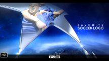 پروژه افترافکت نمایش لوگو ورزشی فوتبال Favorite Soccer Sport Opener