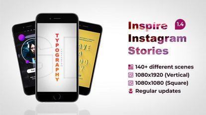 پروژه افترافکت استوری اینستاگرام Inspire Instagram Stories