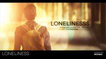 پروژه افترافکت اسلایدشو آلبوم عکس Loneliness