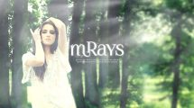مجموعه فوتیج ویدیویی پرتوهای نور mRays