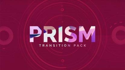 مجموعه ویدیوی موشن گرافیک ترانزیشن پرانرژی Prism