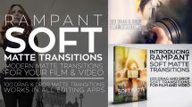 مجموعه فوتیج ترانزیشن لوما مت سافت Rampant Soft Matte Transitions