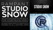 مجموعه فوتیج ویدیویی برف Rampant Studio Snow