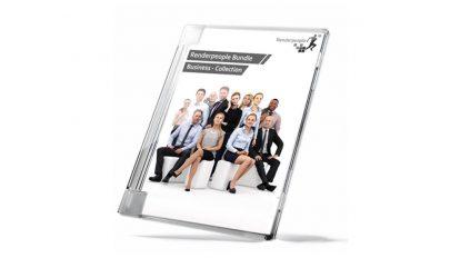 مجموعه مدل سه بعدی انسان RenderPeople Business People