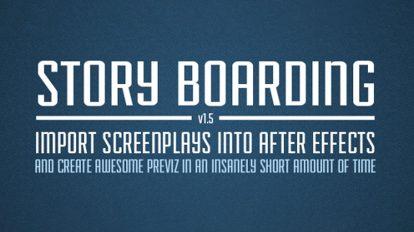 اسکریپت افترافکت Story Boarding