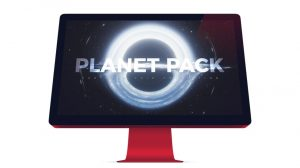 مجموعه مدل سه بعدی سیارات سیستم خورشیدی Planet Pack برای سینما فوردی