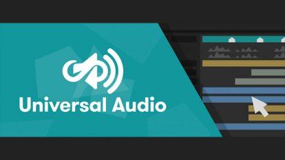 اسکریپت افترافکت Universal Audio برای سینک صدا با زمان بندی انیمیشن